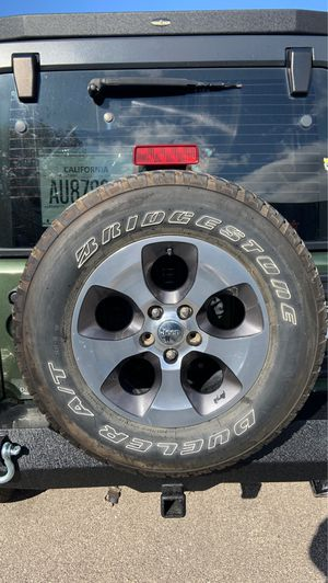 Jeep Wrangler stock spare wheel for Sale in Morton Grove, IL