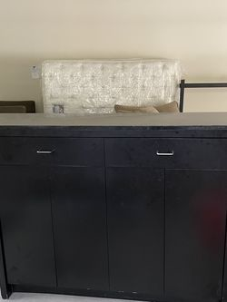 Black Granite Top Sideboard for Sale in Snoqualmie,  WA