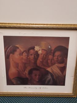 "VERY LARGE (30"" H x 35"" W), Lightweight Frame (damaged print can be removed) - firm price for Sale in Arlington,  VA"