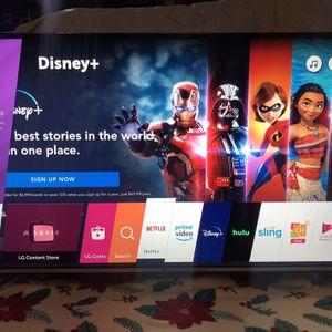 50 Inch LG Smart 4K UHD WebOs TV for Sale in Arlington, TX