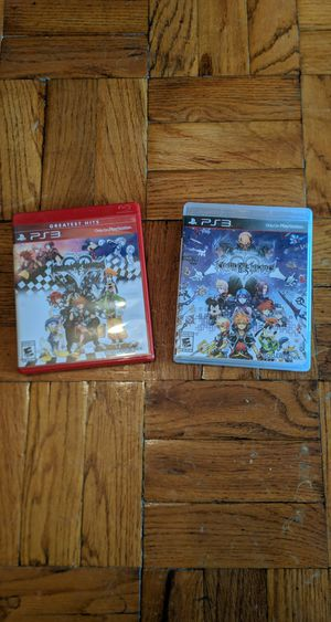 Kingdom hearts 1.5 + 2.5 bundle for PS3 for Sale in Tacoma, WA