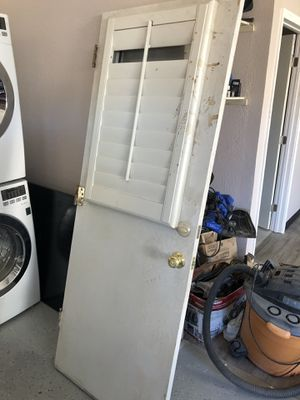 Used garage side door . for Sale in Fremont, CA