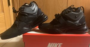 Men's Nike Air Force 270 NEW Black sz 10.5 & 8-SAVE OVER $65 OFF RETAIL for Sale in Mundelein, IL