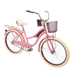 "Huffy 24"" Nel Lusso Cruiser Bike, Pink Blush Powder for Sale in Alexandria, VA"