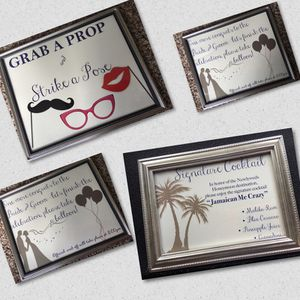 Framed Wedding signs individual and lot prices for Sale in Pickerington, OH