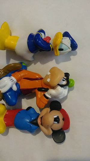 Vintage Disney rubber toys 5 to 6 inch figures for Sale in Tracy, CA