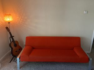 Modern Red Futon Couch for Sale in Los Altos, CA