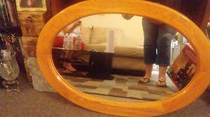 Big oak mirror great condition for Sale in Salt Lake City, UT