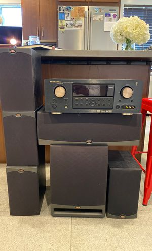 Marantz Tuner, 5 Klipsch speakers plus subwoofer for Sale in Playa del Rey, CA