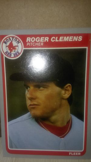Full Set Of 1985 Fleer Baseball Cards With Roger Clemens Card #155 for Sale in Asheboro, NC