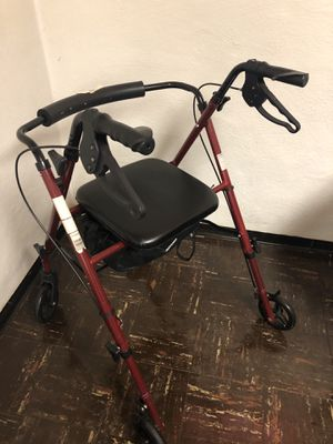 Rollator walker - like-new condition for Sale in Cleveland, OH