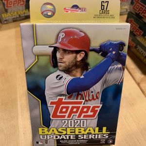 2020 Topps Baseball Cards Update Series - Hanger Box 🔥🔥 for Sale in San Diego, CA