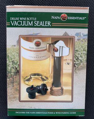 Napa Essentials Deluxe Wine Bottle Sealer for Sale in Myrtle Beach, SC