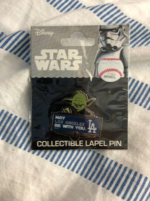 Los Angeles Dodgers Disney Yoda Star Wars pin brand new for Sale in Los Angeles, CA