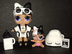 Lol Dolls Series 3 Snuggle Babe and lil sis for Sale in Portland, OR