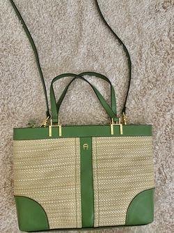 Etienne Aigner Bag | Braided Tote & Shoulder Bag for Sale in Nashville,  TN