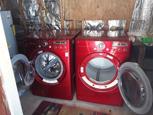 LIMITED EDITION LG WASHER AND DRYER for Sale in Kernersville, NC