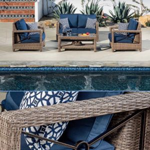 Patio Furniture Set Sunbrella Fabric for Sale in Riverside, CA