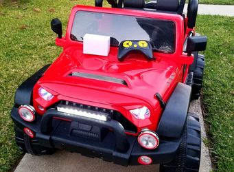 BRAND NEW!! 2 SEATER 12Volt Jeep Ride On Power wheels for kids with REMOTE CONTROL Electric Kids Car for Sale in Buena Park,  CA