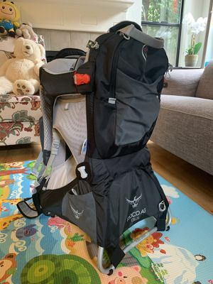 Ospreys POCO AG Plus child carrier backpack for Sale in Redmond, WA