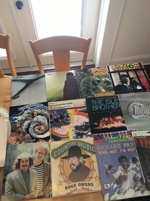 Variety of record albums. Two The Moody blues, two Wishbone Ash, Savoy Brown, Chicago, public enemy, the Isley brothers with Jimi Hendrix, Richard Pr for Sale in Tampa, FL