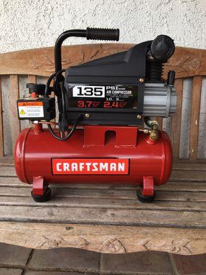Craftsman 3 gallon 135 psi air compressor for Sale in Bloomington, CA
