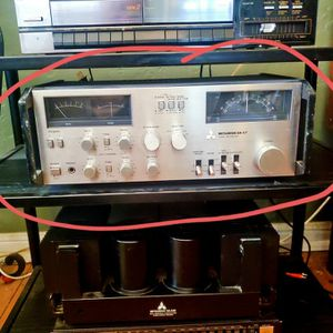 Mitsubishi DA-C7 Vintage Preamplifier, Receiver, Tuner for Sale in Los Angeles, CA