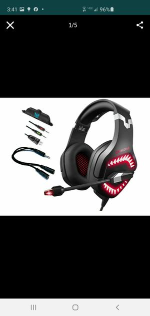 New professional gaming headset for Sale in Riverside, CA