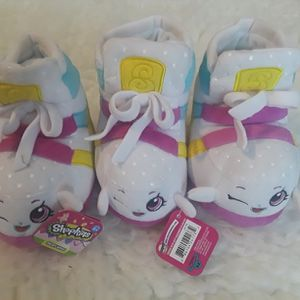 New 3 Shopkins Plush Sneaky Wedge All For $5 for Sale in El Cajon, CA