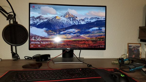 Dell 27 curved monitor