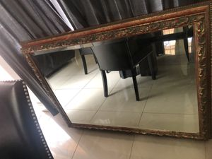 Elegant big wall mirror for Sale in Miami, FL