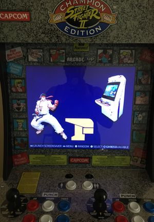 Champion street fighter arcade one up fully loaded for Sale in Dade City, FL