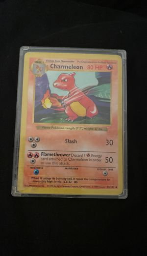 Charmeleon very rare 1999 pokemon card **READ DESCRIPTION** for Sale in Nashville, TN
