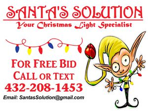 Christmas Light Installation Free Bids for Sale in Odessa, TX