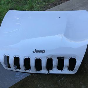 2014 - 2018 Jeep Cherokee Latitude Front Hood for Sale in Sacramento, CA