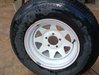 """14"""" Boat Trailer Wheel/Tire for Sale in Milwaukie,  OR"""