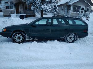 95' Ford Taurus station wagon with low miles. for Sale in Oliver, WI