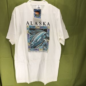 Vintage 1989 Ray Troll Alaska T-Shirt Men's Size Large for Sale in Anchorage, AK
