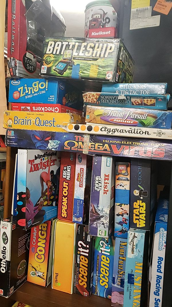 I have games and puzzles for sale