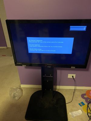 "39"" LCD LED TV with remote and stand for Sale in Bolingbrook, IL"
