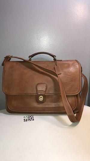 Vintage coach large messenger/briefcase shoulder bag for Sale in West Park, FL
