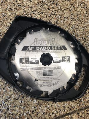 "Freud 8"" Dado Set for Table Saw for Sale in Naples, FL"