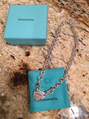 Tiffany & Co. Return to Tiffany Heart Tag Choker for Sale in Washington, DC