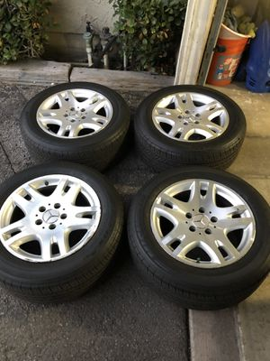 "16"" Mercedes wheels with Michelin Pilot Sport tires for Sale in Glendale, CA"