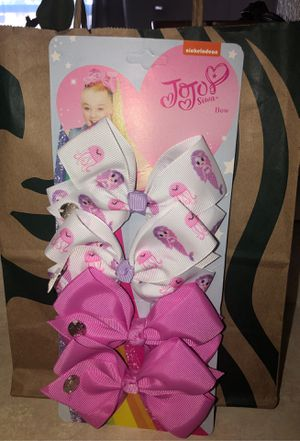 Jojo Bows $4 each OR 3 pairs for $10 for Sale in Winton, CA