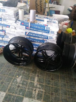 "20"" Black Rims Set of 4 for Sale in Atlanta, GA"