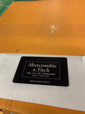 $35 credit for $25 Abercrombie Fitch Store Return Card for Sale in Fairfax, VA