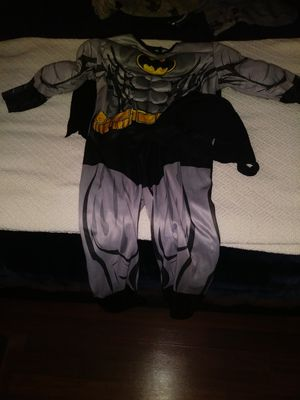 Batman Costume 2T-3T for Sale in Lakeside, CA