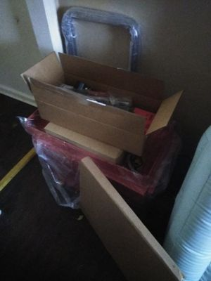Tool box with tools for Sale in Wichita, KS