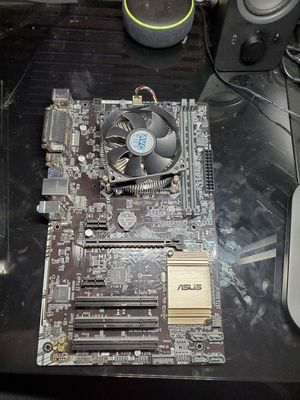 Asus motherboard plus i7-7700 CPU and fan for Sale in South Pasadena, CA
